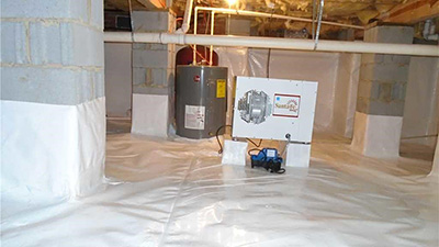 Crawl space encapsulation provides huge benefits to you and your home! 1