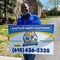 Free Estimate - Crawl Space Brothers Nashville TN   Happy Customer: Julian Griffen - 1104 Warrior Drive, Franklin TN 37064