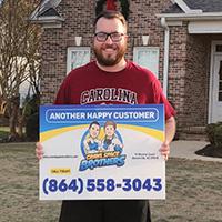 Simpsonville SC Happy Customer