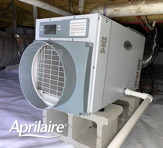 Aprilaire Crawl Space Dehumidifier