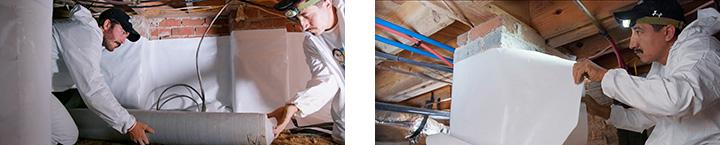 Crawl Space Repair and Encapsulation